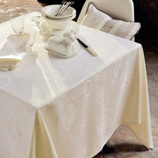 Mille Eclats Chocolat Blanc Tischdecke