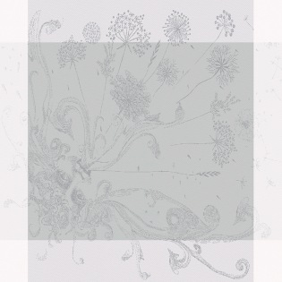 Souffle Gris Serviette, 4er Set