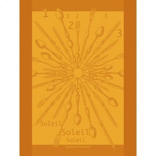 1.2.3. Soleil Lumière Geschirrtuch, 4er Set