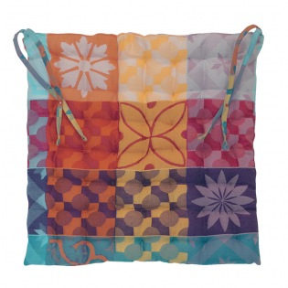 Mille Tiles Multicolores Stuhlkissen, 2er Set