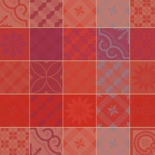 Mille Tiles Terracotta Serviette