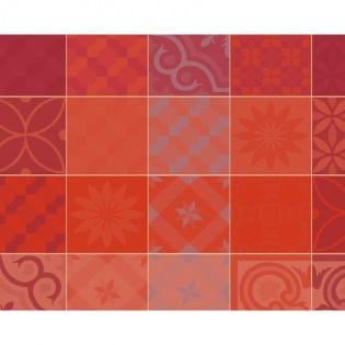 Mille Tiles Terracotta beschichtetes Tischset