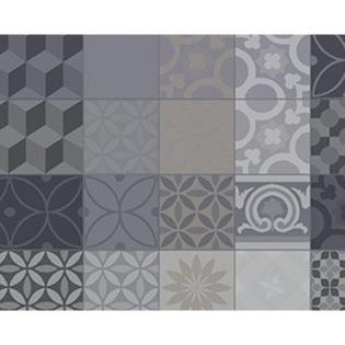 Mille Tiles Anthracite beschichtetes Tischset
