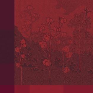 Paysage Scarlet Serviette