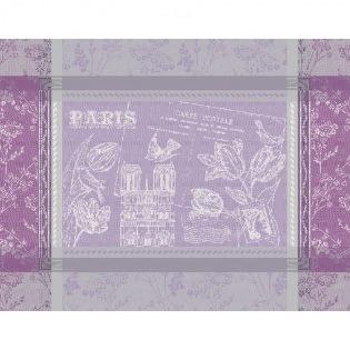 Tischset Carte Postale Paris Notre Dame Violine