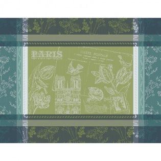 Tischset Carte Notre Dame Vert