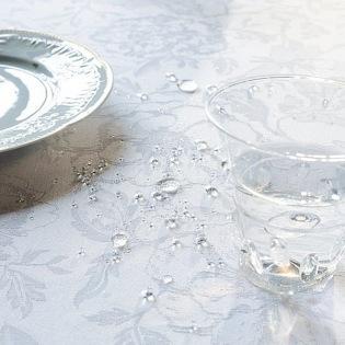 Mille Charmes Blanc Tischdecke / Enduit