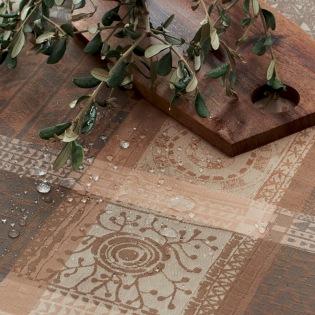 Mille Wax Argile beschichtete Tischdecke