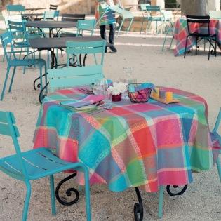 Mille Wax Cocktail beschichtete Tischdecke