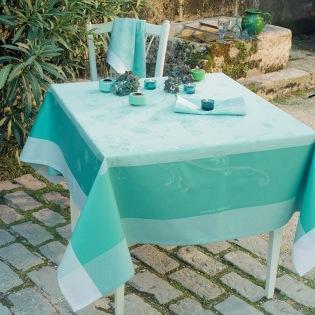 Souffle Turquoise Tischdecke