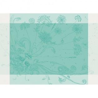 Souffle Turquoise Tischset, 4er Set