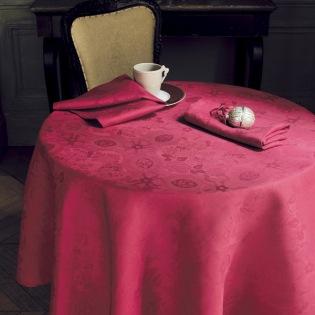 Mille Datcha Framboise Tischdecke