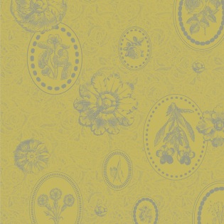Mille Eclats Citron Vert Serviette, 4er Set