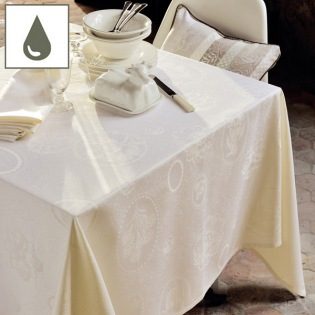 Mille Eclats Chocolat Blanc Tischdecke / Enduit 175 x 250 cm