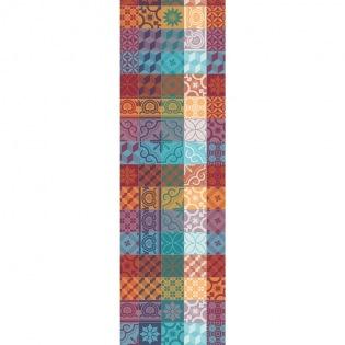 Mille Tiles Multicolore Tischläufer, 2er Set