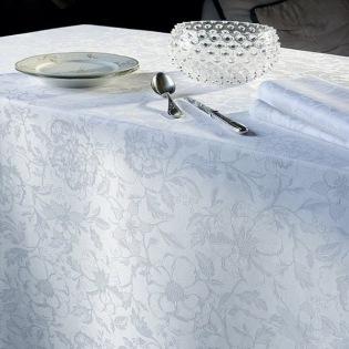 Mille Charmes Blanc Tischdecke