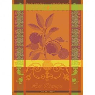 Les Oranges Geschirrtuch, 4er Set