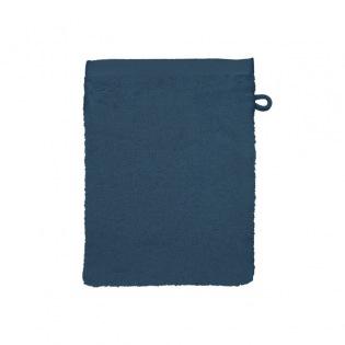 Ligne Bambou Bleu Waschhandschuh